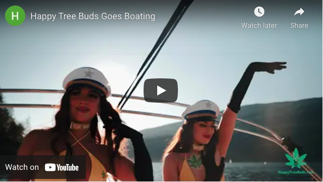 Happy Tree Buds Goes Boating